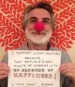 Founder and CEO Prof. Thomas Petschner on Red Nose Day 2014