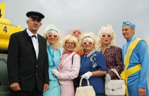Thunderbirds are GO team with Suzy Cato (pink suit) – Photo by Jacqui Madelin
