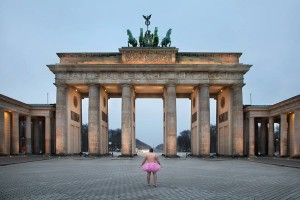 Brandenburger Tor. Berlin, Germany. 2013.  Copyright Bob Carey